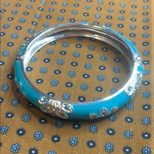 👑 Avon Globalista Bangle Bracelet in Blue NEW